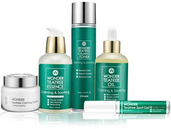 skin body care tea tree products New Zealand