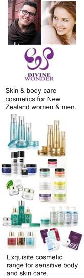 New Zealand body and skin care cosmetics