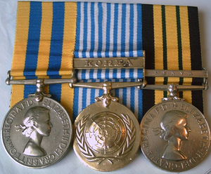 New Zealand military medals mounting medals post-mount medals gallery