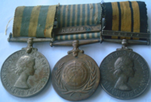 New Zealand military medals mounting pre-mounted medals gallery