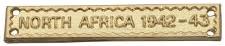 clasp NORTH AFRICA 1942